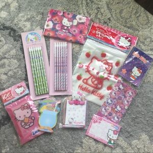 Hello Kitty Stationary Bundle